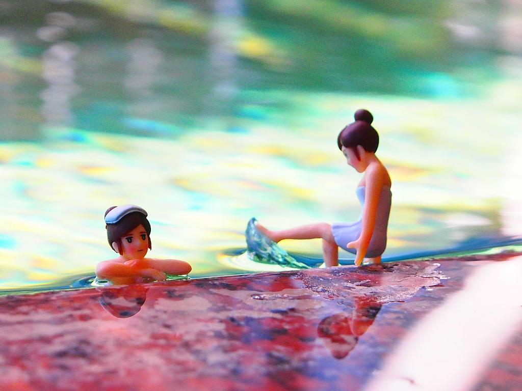 戸倉上山田温泉中央ホテルコップのフチ子温泉