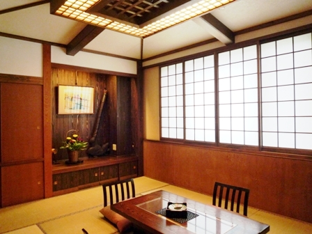 戸倉上山田温泉中央ホテルメゾネットタイプ客室