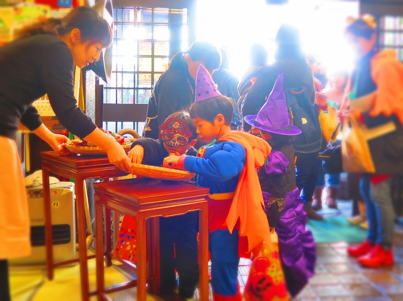 ハロウィーン仮装パーティー戸倉上山田温泉中央ホテル