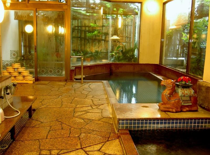 中央ホテル女湯掛け流し温泉