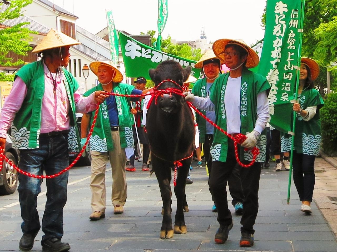 牛に引かれて善光寺参りウォーキングイベント