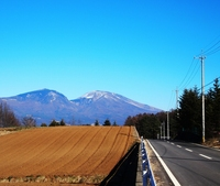 冠雪ノ浅間山