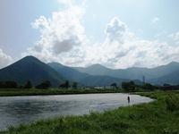 千曲川 鮎釣り