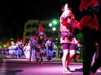 戸倉上山田温泉 夏祭り 民謡流し